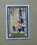 Stamps Spain -  Beato C. Burgo De Osma.
