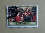 Sellos de Europa - España -  Desposorios Misticos Venerable Agnesio ( J. de Juanes )