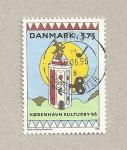 Sellos de Europa - Dinamarca -  Año cultural Copenhagen