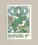 Stamps Denmark -  Ave frailecillo