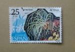 Sellos de Europa - España -  Actinia Equina.
