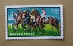 Stamps Hungary -  Carrera Caballos.