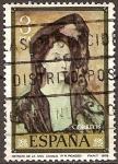 Sellos de Europa - España -  Retrato de la Sra.Canals (P.R.Picasso)