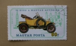 Stamps Hungary -  Swift 1911