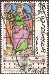 Sellos de Europa - España -  Santiago Peregrino.Hospital Real S.de Compostela