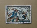 Stamps Spain -  Navidad 1972. Adoracion de los Pastores ( LEON )