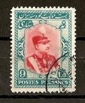 Stamps Asia - Iran -  Riza Pahlavi.