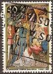 Sellos de Europa - España -  Navidad 1984.La adoración.Campos (Mallorca)