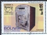 Sellos de America - Bolivia -  América UPAEP - Buzones