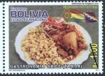 Stamps America - Bolivia -  Gastronomía boliviana - Saice tarijeño