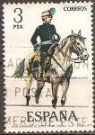 Sellos del Mundo : Europa : España : Nº38.Comandante de Estado Mayor 1884