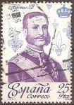 Sellos de Europa - España -  Alfonso XII