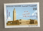 Sellos del Mundo : Africa : Túnez : Mezquita El Abidine de Cartago