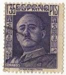 Sellos del Mundo : Europa : España : 1001.- General Franco
