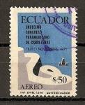 Sellos de America - Ecuador -  11º Congreso Panamericano de Carreteras.