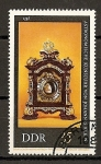 Stamps : Europe : Germany :  DDR - Relojes Antiguos.