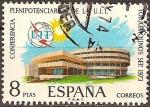 Sellos del Mundo : Europa : España : Plenipotenciarios U.I.T.(Torremolinos Sep.1973)