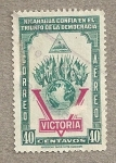 Stamps America - Nicaragua -  Banderas