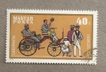 Stamps Hungary -  Auto antiguo Daimler Benz