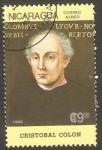 Stamps : America : Nicaragua :  1172 - Cristobal Colon, navegante