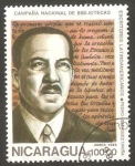 Stamps : America : Nicaragua :  1138 - Pedro Henriquez Ureña, escritor