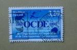 Sellos de Europa - Francia -  30vo Aniversario de Cooperacion Economica