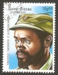 Stamps : Africa : Guinea_Bissau :  439 - II anivº de la muerte del presidente Samora Machel