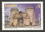 Sellos de Europa - España -  Puerta de Palmas en Badajoz