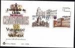 Sellos de Europa - España -  Centenarios - Universidades Valencia y Lleida  - SPD