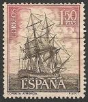Sellos de Europa - España -  Homenaje a la Marina Española. Ed 1606
