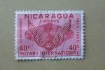 Stamps Nicaragua -  50vo Aniversario de Rotary Intenacional