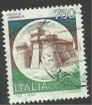 Stamps Italy -  Castillo
