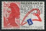 Sellos del Mundo : Europa : Francia : S2145a - Philexfrnce '89