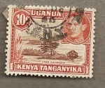 Stamps Africa - Uganda -  Lago Naivasha