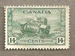 Sellos del Mundo : America : Canadá : Tanque