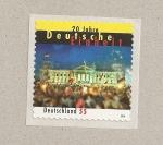 Sellos de Europa - Alemania -  20 Aniv. de la unificación de Alemania