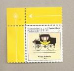 Stamps Germany -  Carruaje histórico de correos