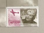 Stamps Germany -  75 aniv vuelo record de Elly Beinhorn