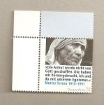 Stamps Germany -  Madre Teresa de Calcuta