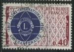 Sellos del Mundo : Europa : Francia : S1196 - 50 Aniv. Lions Internacional