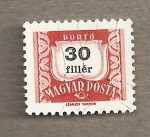 Stamps Hungary -  Filigrana