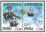 Sellos del Mundo : America : Perú : Francisco Pizarro