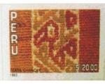 Sellos del Mundo : America : Perú : TEXTIL CHANCAY