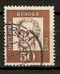 Stamps Germany -  Goethe.