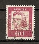 Sellos de Europa - Alemania -  Friedrich von Schiller.