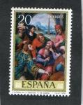 Stamps Spain -  2540- SAN ESTEBAN EN LA SINAGOGA ( JUAN DE JUANES ).