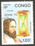 Stamps : Africa : Republic_of_the_Congo :  955 - Alonso de Ojeda, navegante