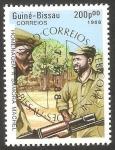 Stamps : Africa : Guinea_Bissau :  441 - II anivº de la muerte del presidente Samora Machel