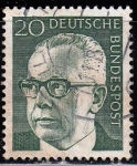 Sellos de Europa - Alemania -  Gustav Heinemann