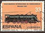 Sellos del Mundo : Europa : España : XXIII.Congreso Internacional de ferrocarriles Malaga 1982